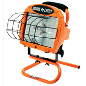 Contractor Grade Halogen Work Light w/ Sled Base, 500 W
