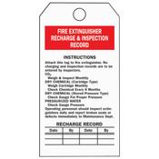 "Brady® Fire Extinguisher Inspection Tags, 5 3/4"" x 3"""