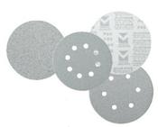 "Platinum Stearated Discs - Hook & Loop Discs 6"" x 6 Dust Holes, Grit/ Weight: 120C, Mercer Abrasives 558612 (50/Pkg.)"