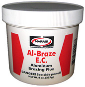 ECDF1/2 Al-Braze EC Powder Flux 1/2/Lb. Jar (1/Jar)