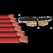 1/4 X 200 Grade T BB Fittings (1/Kit)