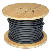 #1 ON 250/Ft Black Welding Cable (250/Reel)
