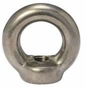 M8-1.25 DIN 582 Forged Eye Nuts, Plain (350/Pkg)