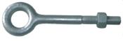 "1/4""x3"" Plain Pattern Nut Eye Bolt, Hot Dipped Galvanized (180/Pkg.)"