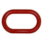 """3/4"""" Master Link, Oblong, Painted Red (50/Pkg)"""