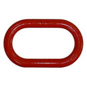 """1-1/4"""" Master Link, Oblong, Painted Red (12/Pkg)"""