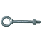 "1""x9"" Shoulder Pattern Nut Eye Bolt, Hot Dipped Galvanized (25/Pkg.)"