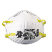 3M 8110S Disposable Lightweight Particulate N95 Respirator Mask - Small (Qty. 160)