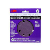 3M Pro Grade Sanding Discs, 88520NA-9-B, 5 in X 8 Hole, 100 Grit, 9/Pack