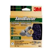 "3M SandBlaster Clean-N-Strip Discs 9681, 4.5"" x 4.5"" - 10"