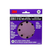 3M Pro Grade Sanding Discs, 88525NA-9-B, 5 in X 8 Hole, 220 grit, 10 Each 9 Pack