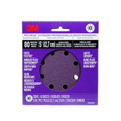 3M Pro Grade Sanding Discs, 88522NA-9-B, 5 in X 8 Hole, 80 Grit, 9 Packs