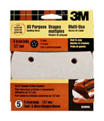 3M Hookit Disc 9305NA, 5 in, 5 Hole Extra Fine 220 Grit 10 Packs