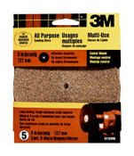 3M Center Mount Discs 9152DC-NA, 5 in, 50 Coarse Grit 10 Packs