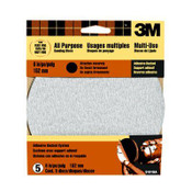 3M Adhesive Backed Sandpaper 9181DC-NA, 6 in, Extra Fine 180 Grit 10 Packs