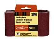 3M Sanding Belt, 9274NA-2, 3 in x 24 in, Coarse, 50 Grit, 2 Each 10 Packs