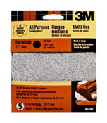 3M Hook and Loop Disc, 9143W, 5 in No Hole, 40 Grit 5 Each 10 Packs