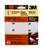3M Discs 9146ES, 5 in Disk, Fine, 120 Grit 5 Each 5 Packs