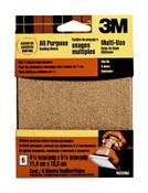 "3M Clip-On Palm Sanding Sheets 9223NA, 4 1/2"" X 5 1/2"", Asst Grit, 6 Each 5 Packs"