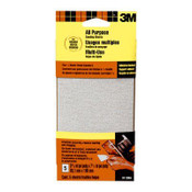 3M Adhesive Backed Sandpaper 9113DC-NA, 3.66 in x 7.5 in Medium 80 Grit 5 Each 10 Packs