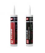 Grip Rite Siliconized Acrylic General Purpose Caulk, White, 10.1 oz #GRWXL50 (12 Tubes/Carton)