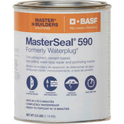 MasterSeal 590 (Formerly Waterplug) Water-Stop Repair Mortar 1 QT (12/Case)