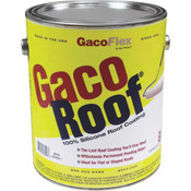 GacoRoof 100% Silicone Roof Coating, White, 1 Gal