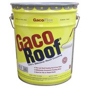 GacoRoof 100% Silicone Roof Coating, White, 5 Gal