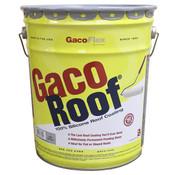 GacoRoof 100% Silicone Roof Coating, Black, 5 Gal