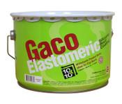 GacoElastomeric Silicone Roof Coating, White, 2 Gal
