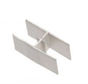 "Grip Rite Plywood Clips, Aluminum, 1/2"" #PCA12G (250/Box)"