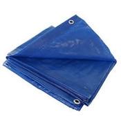 Grip Rite #ETARP68 Economy Blue Tarp, 6 ft x 8 ft (40/Carton)
