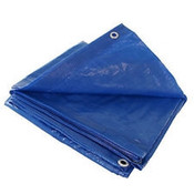 Grip Rite #ETARP1012 Economy Blue Tarp, 10 ft x 12 ft (15/Carton)