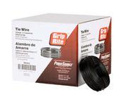 Grip Rite #TW16312I Tie Wire - Import, Black Annealed, 16 ga. (20 Rolls/Box)