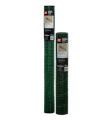 "Grip Rite #HC36225G Hardware Cloth Vinyl Coated - Green, 36"" x 5 ft, 19 ga, 1/2"" Mesh"