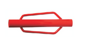 "Grip Rite #TPPWHHD T-Post Driver, Red w/ Handles, 31"" Length"