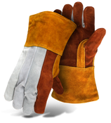 BOSS Premium-grade Split Leather Welder Large (12 Pairs)
