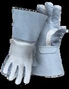 BOSS Premium Elkskin Welder Cowhide Leather Cuff Large (12 Pairs)