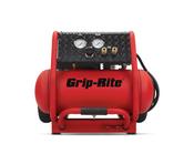 Grip Rite #GR2540LR 4 Gallon Ultra Quite Compressor