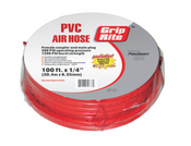 "Grip Rite #GRPVC1410C PVC Air Hose w/ Coupler & Plug, 1/4"" D x 100 ft"