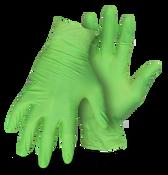 BOSS Disposable 4 Mil No Powder Nitrile Gloves, Medium (100/Box) (10 Boxes)