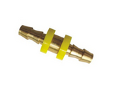"Grip Rite #GRF14PSPLD Push-Lock Splicers, 1/4"" Body Size, 1/4"" Hole Size, Brass (25/Pkg.)"