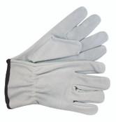 Shoulder Split Cowhide Keystone Thumb Leather Driver, Medium (12 Pair)