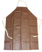 "BOSS 36"" x 46"" Medium Weight Maroon Rubber Coated Cotton Apron (1 Apron)"
