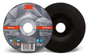 3M Silver Cut-Off Wheel, 36 Grit, 87659, T27 4.5 in x 3/32 in x 7/8 in (Qty. 50)