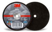 3M Silver Cut-Off Wheel, 60 Grit, 87457, T1, 3 in x .035 in x 1/4 in (Qty. 50)