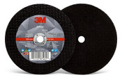 3M Silver Cut-Off Wheel, 60 Grit, 87463, T1, 4 in x .050 in x 3/8 in (Qty. 50)