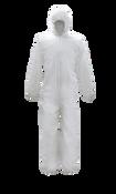BOSS Suntech Coverall Disposable Suit w/Hood, 4XL (25/Case)