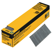 """15 Gauge DA x 1-1/2"""" Collated Angled Finish Nails, Galvanized (2,500 Count), Dewalt #DCA15150-2"""