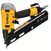 "Dewalt #DWFP72155 15 GA Precision Point ""DA"" Style Angle Finish Nailer"